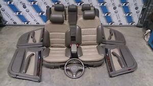 AUDI-A6-C5-Allroad-Complete-Leather-Interior-Seats-Door-Cards-amp-Steering-Wheel