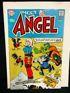 MEET-ANGEL-7-VF-VF-SCARCE-DC-WALLY-WOOD-ART-ONLY-ISSUE-AFTER-ANGEL-amp-APE-WOW