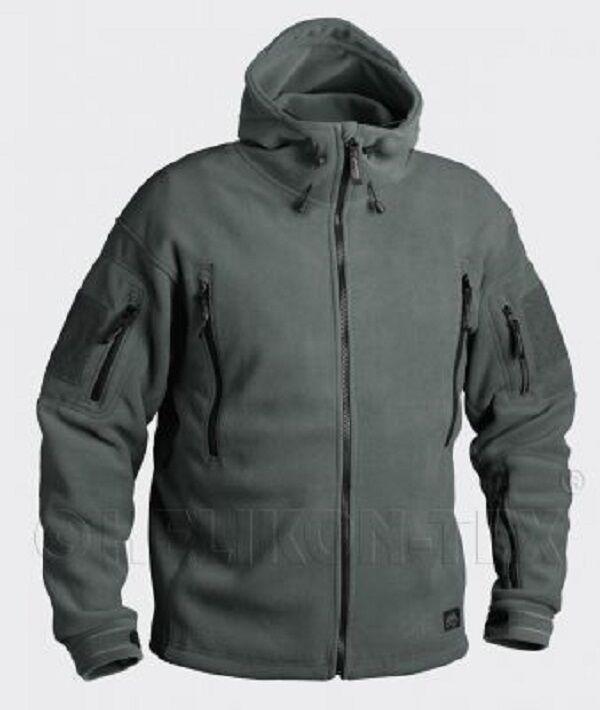 HELIKON TEX PATRIOT HEAVY FLEECE Outdoor Kapuzen JACKE Jacket foliage Grün