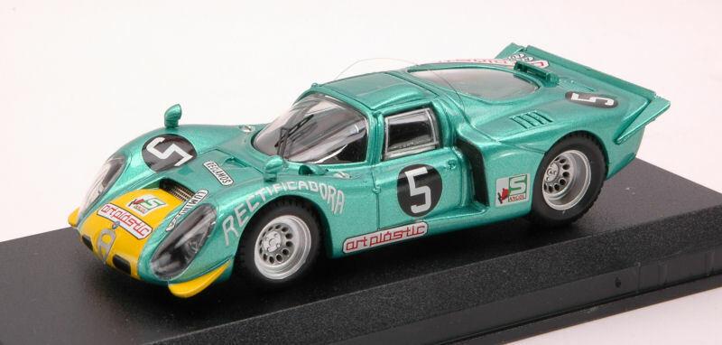Alfa Romeo 33.2  5 Luea 1972 A. Peixinho 1 43 modello BEST modelloS