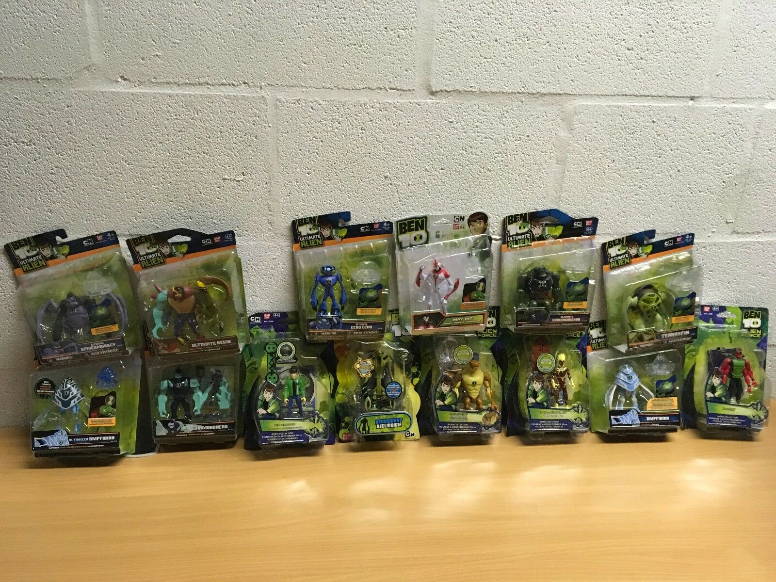 BEN 10 FIGURE NEW RARE WAYBIG ULTIMATE KEVIN YOU CHOOSE