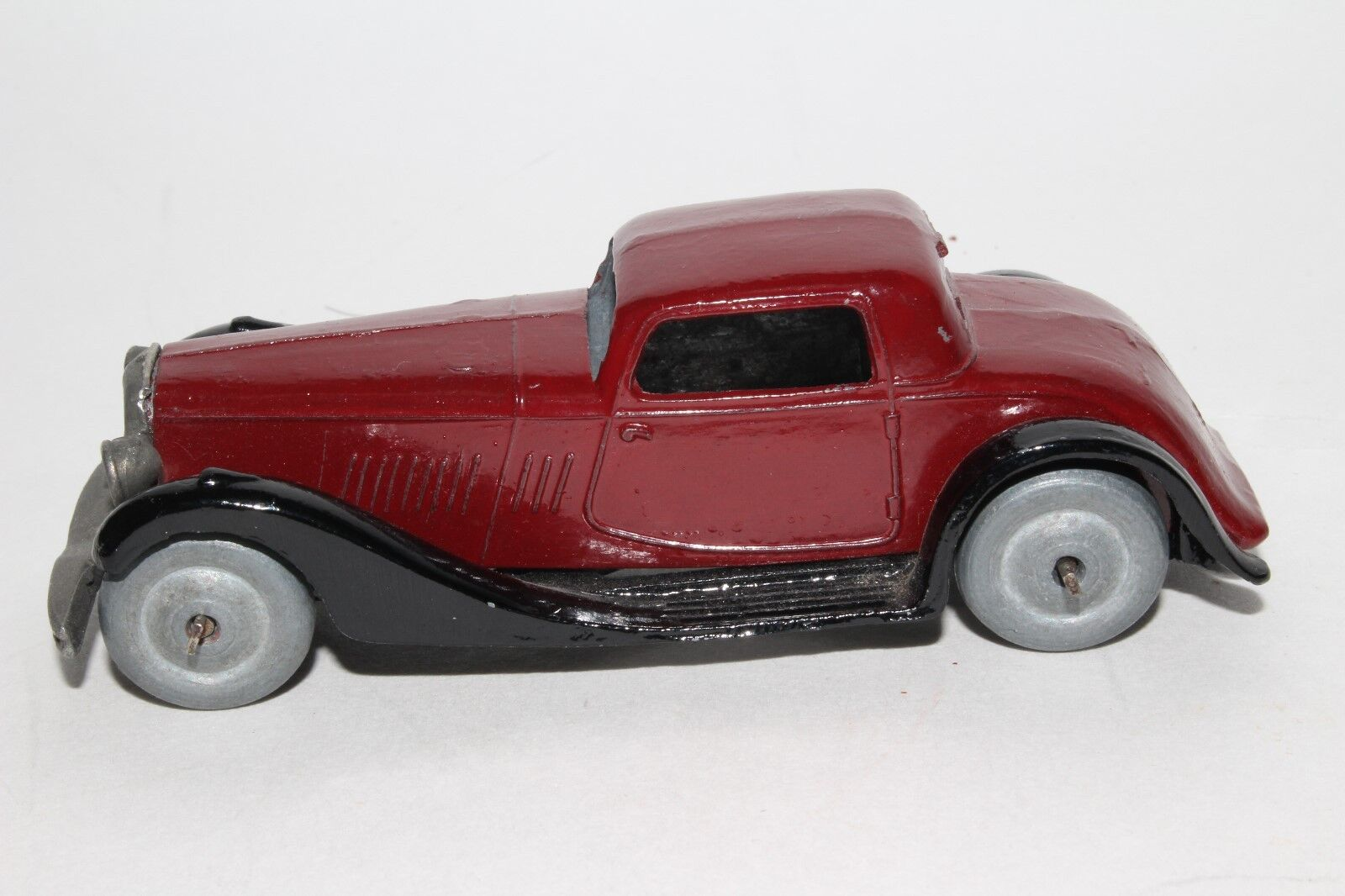 Dinky Toys b 1930's Bentley Coupe, Coupe, Coupe, Metal Wheels, Early Frame, Restored 3a968f