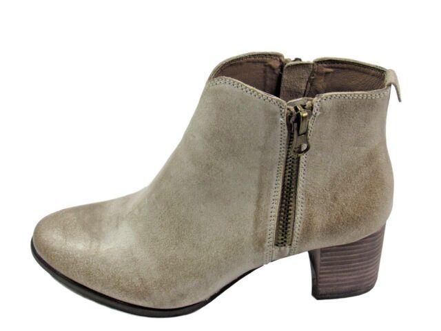3c416cc87061 Chocolat Blu Women s Hamlin Heeled Leather Bootie Sandstone Size 10 ...