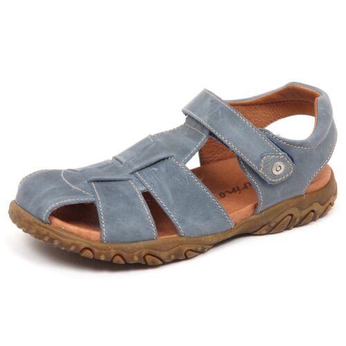 E5980 sandalo bimbo blu//grey NATURINO scarpe vintage effect sandal shoe kid boy