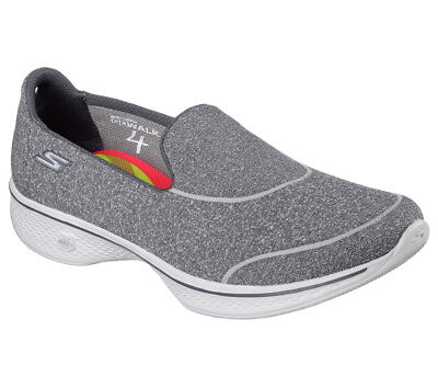 NEU SKECHERS Damen Fitness Sneakers Slipper Loafer GO WALK 4 2vQXA
