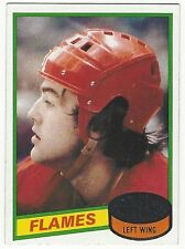 1980-81 TOPPS HOCKEY #197 KENT NILSSON ROOKIE - NEAR MINT+