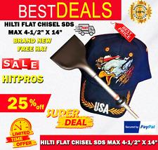 Hilti Flat Chisel Sds Max 4 12 X 14 Brand New Free Hat Fast Ship