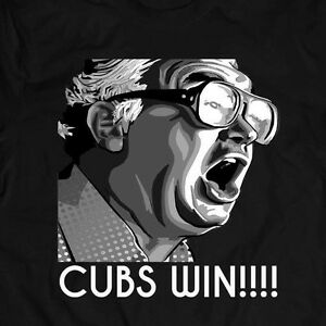 Details about HARRY CARAY (LIMITED DESIGN) CHICAGO CUBBIES WIN World Series  *FULL FRONT*