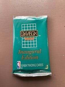1990-SKYBOX-Inaugural-Edition-15-NBA-BASKETBALL-TRADING-CARDS-PACK-NEW-Sers-2