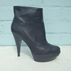 French Connection Leather Boots UK 5
