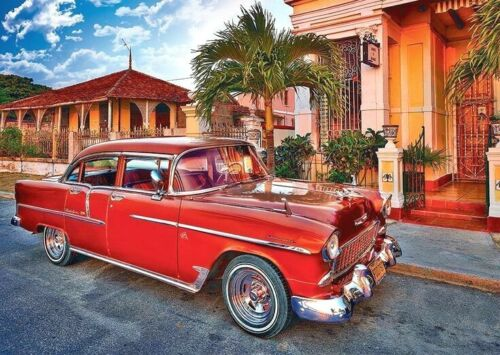 Red Chevrolet B//W Cross Stitch Chart Buy 1 GET 1 HALF PRICE