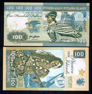 Pitcairn-Islands-100-private-issue-2017-Bounty-Polynesian-Nude