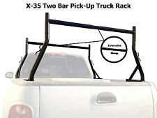 AA-Racks 800 LB Truck Ladder Rack Contractor Pick Up Rack Lumber Cargo New