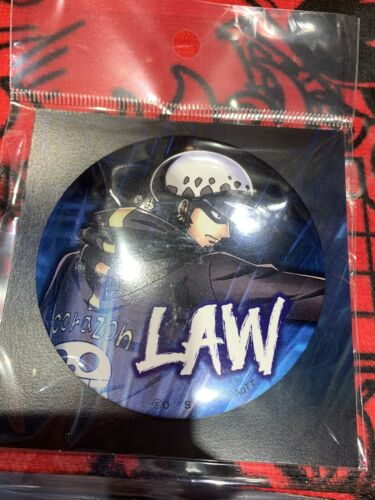Onepiece Japan Tokyo Tower Limited Can Badge Trafalgar Law Import Collectibles