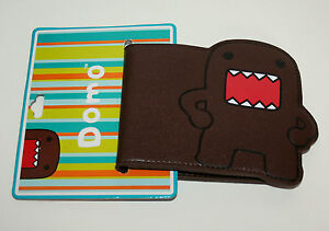 New On Card Domo Animie Brown Bi-fold Wallet 2012 Big Tent
