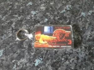 8 Bit Freddy Krueger Jumbo Keyring. Elm Street 3. Dream Warriors