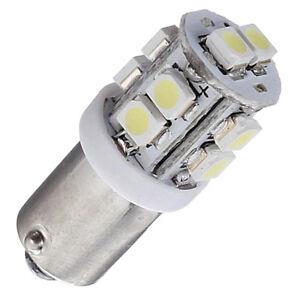 4x-T11-BA9S-T4W-233-10-SMD-LED-coche-Bayoneta-cuna-interior-lado-Luz-Bombilla-A2C1-W