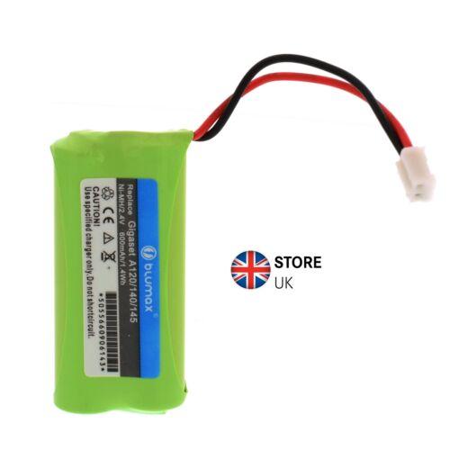 Blumax Ni-MH Battery 2.4V 600mAh for Siemens Gigaset A120 A140 A160 A165 Q063