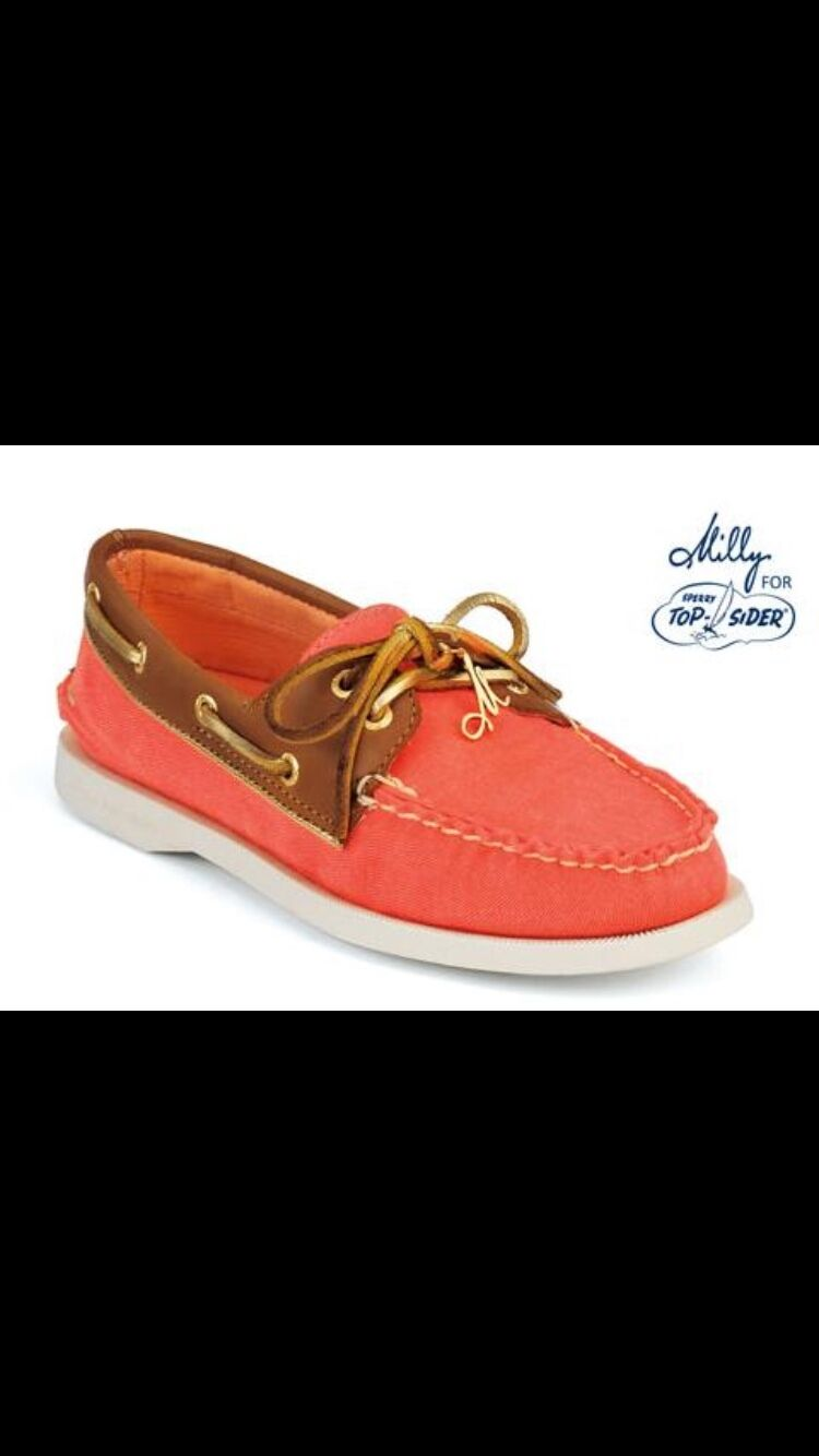 Milly Milly Milly for Sperry Sperry for Topsider Classic Boat shoe NWOT Taglia ... 4fe009