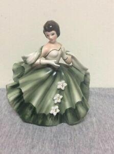 Vintage Lady Planter Southern Belle