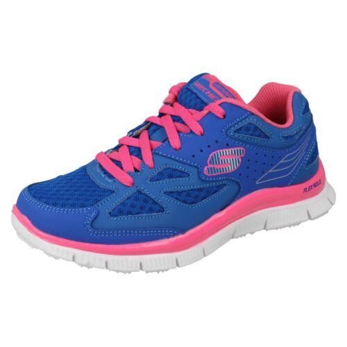rosa blu memory in da 81895 skylon lacci blu neon per Scarpe Allineamento Skechers ragazze ginnastica con EI6qxWdZw