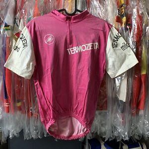 Giro-Italia-1981-ciclamino-vintage-cycling-leader-jersey-maillot-RARE