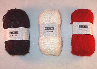 Dark Horse Yarn Spring Bulky Eyelash Boucle 100g Color Choice Loom Knit Crochet