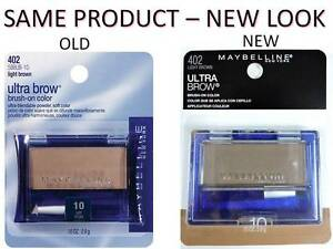 Maybelline Ultra Brow Powder 10 Light Brown Eyebrow Color Makeup 402 New Look /3512937