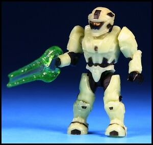 Details about HALO MEGA BLOKS SPARTAN RECON INFECTED ZOMBIE  GLOW-IN-THE-DARK MINI FIGURE 97199