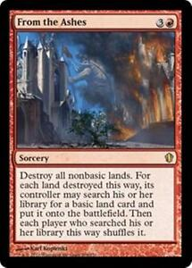 FROM-THE-ASHES-Commander-2013-MTG-Red-Sorcery-RARE