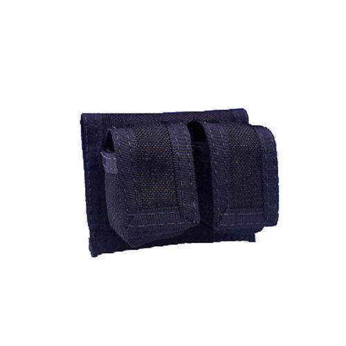 Double Braun Speedloader Case – Schnelllader-Tasche Leder