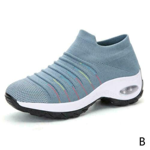 Womens Sport Running Shoes Air Cushion Sneakers Breathable HOT Slip Walking M8V1