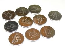 CR2025 CR 2025 Lithium Battery Quality 10 pack Coin button Cell - Ships from USA