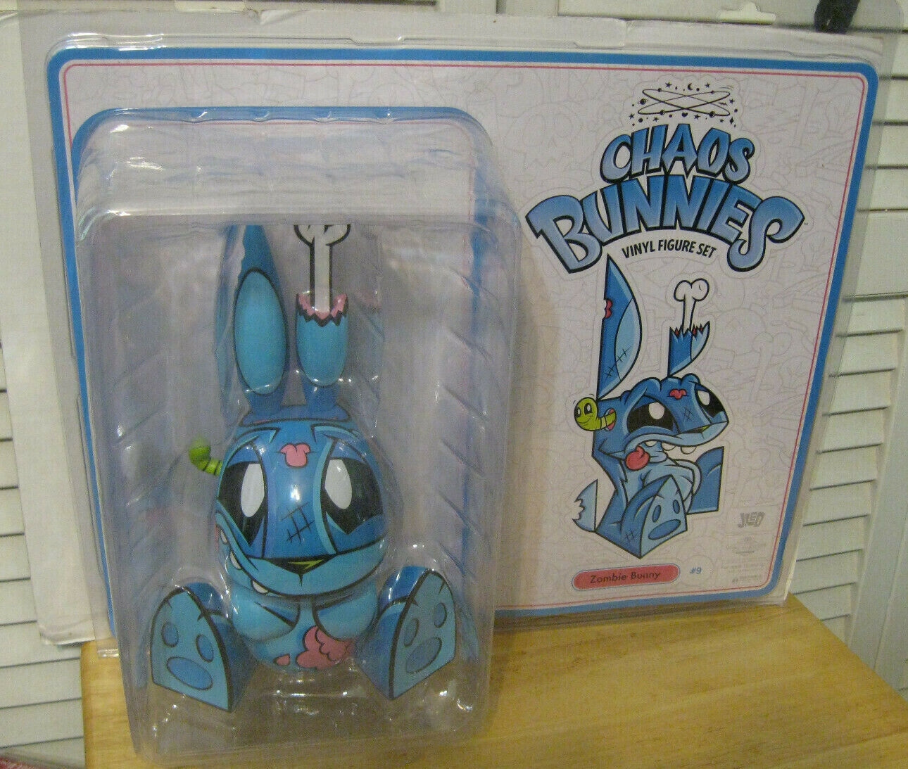 Loyal Subjects 10  Chaos Bunnies   09 Zombie Bunny Vinyl cifra Joe Ledbetter  più economico
