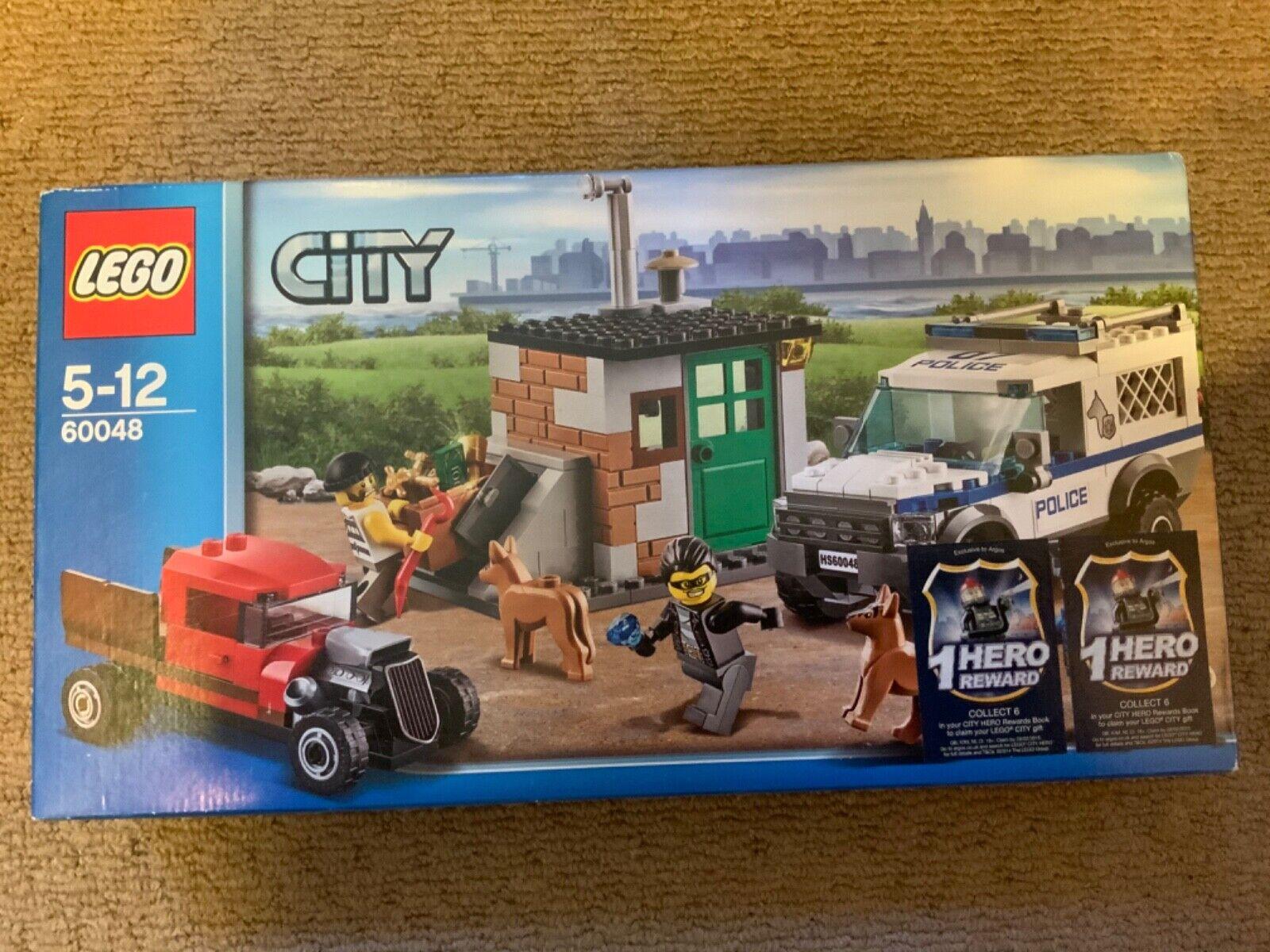 LEGO 60048 City Police Dog Unit Retirot & Ultra Rare Brand new in sealed box