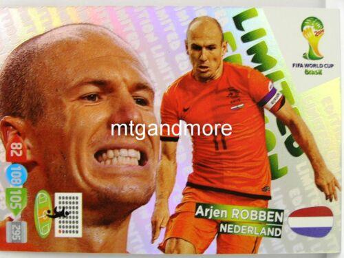 ADRENALYN xl-Limited Edition card choisir-fifa world cup brazil 2014 wm