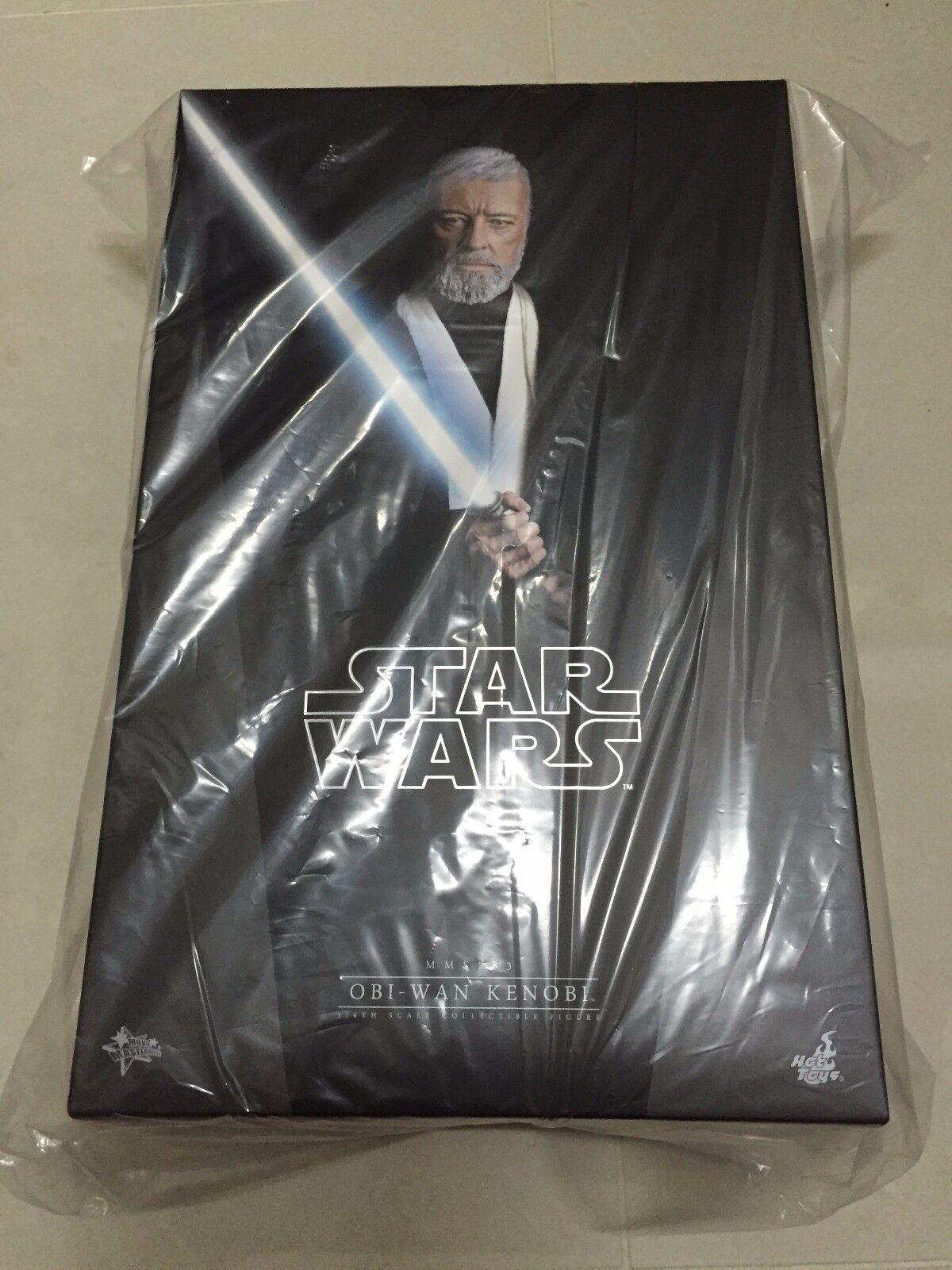 Hot Toys MMS 283 Star Wars New Hope Obi-Wan Kenobi Alec Guinness Figure NEW