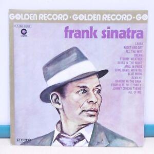 33T-Frank-SINATRA-Vinyl-LP-12-034-GOLDEN-RECORD-LAURA-BLUES-IN-NIGHT-Jazz-81263