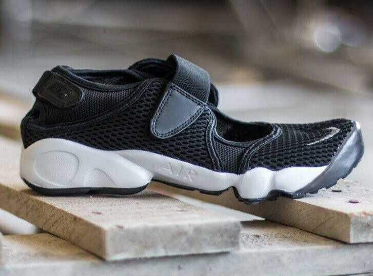 New Nike AIR RIFT  Break wms USsz  6 (23cm) nero running scarpe 88386 -001  marchio famoso