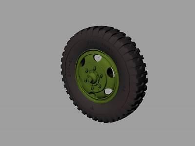 PANZER ART RE35-334 1//35 Marmon-Herrington road wheels Firestone