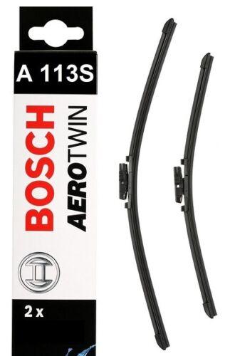 Bosch Front Car Windscreen Wiper Blades 600mm+500mm A113S