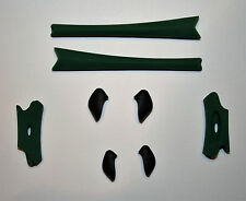 Oakley FLAK JACKET Replacement Nose Pieces & Ear Socks - DARK GREEN