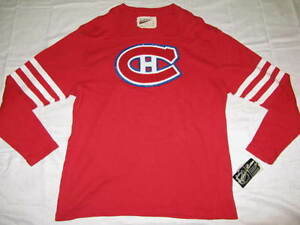 new product ffd97 23a41 Details about Montreal Canadiens Red LevelWear Men's 2XL Vintage NHL  Sweater Jersey