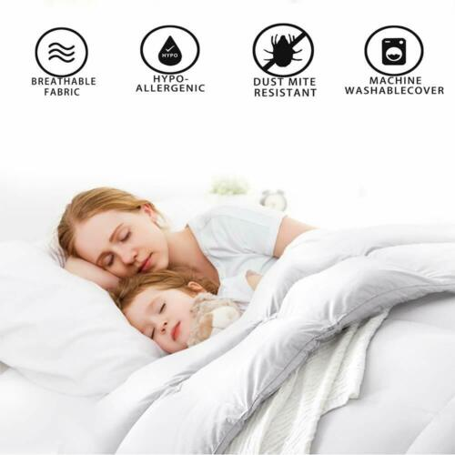 Luxury Duck Feather /& Down Duvet Quilt 13.5 Tog Bedding All Sizes Hotel Quality
