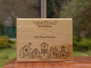 Image Is Loading We 039 Ve Moved Bird House New Address