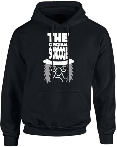 The Original Scrooge Xmas Christmas Unisex Hoodie 10 Colours by swagwear S-5XL