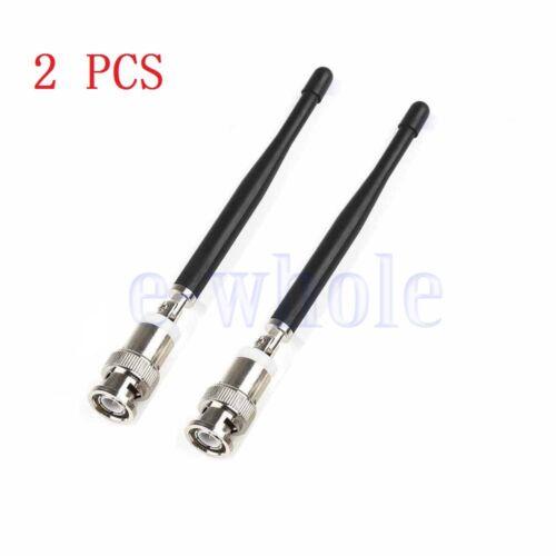 2 PCS BNC Antenne Zum Shure Kabellos Mikrofon SLX//UC//U4D//U4S//UB 600-900MHz ER