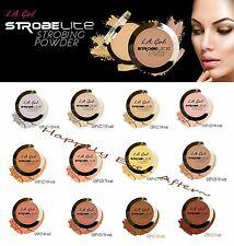 All 12 SHADES! - LA Girl Highlight Powder - Strobe Lite Strobing Powder for Face