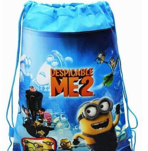 Children/'s Cartoon Despicable Me2 Drawstring Bags