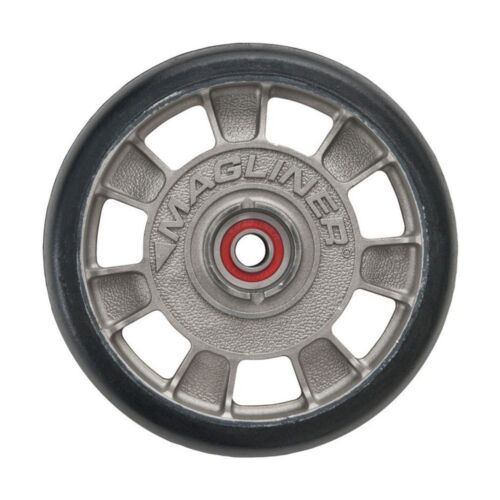 Magliner 8 in Hand Truck Wheel Replacement Sealed Bearings Mold-On Rubber Tire